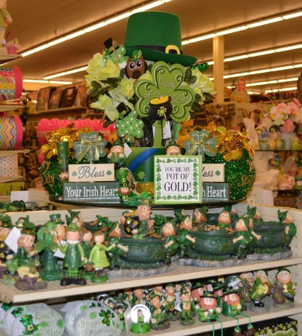 retail checkout counter ideas for saint patrick's day
