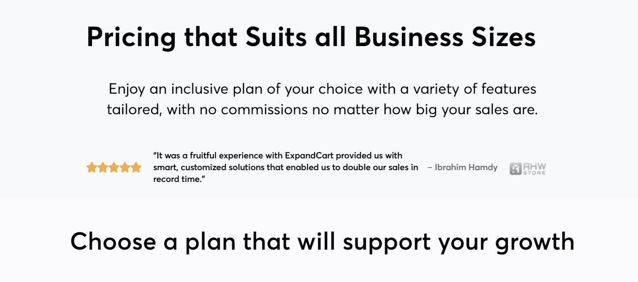 ecommerce web hosting solutions platform