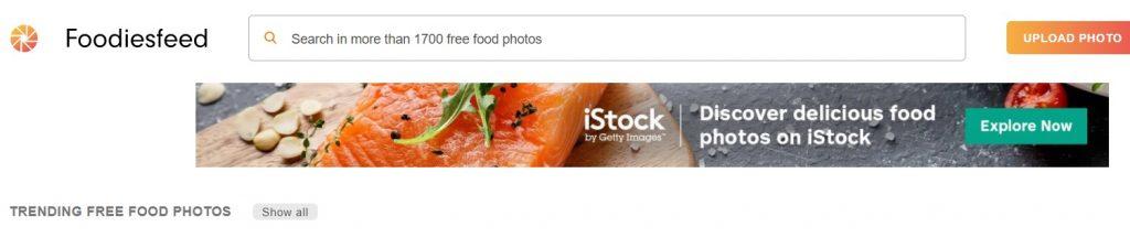 موقع Foodiesfeed أفضل مواقع صور عالية الجودة