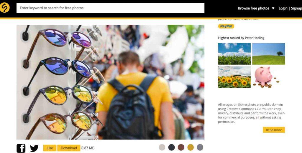 موقع SkitterPhoto من أفضل مواقع صور مجانية