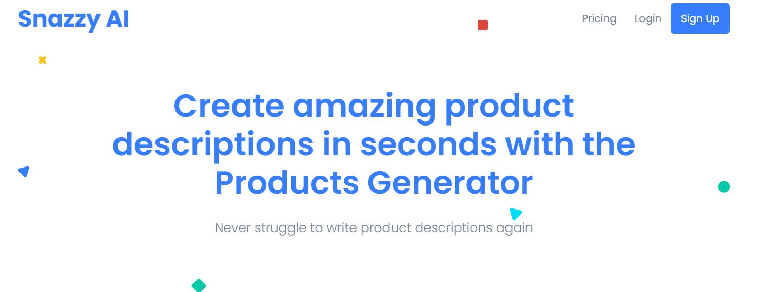 product description generator SEO tool