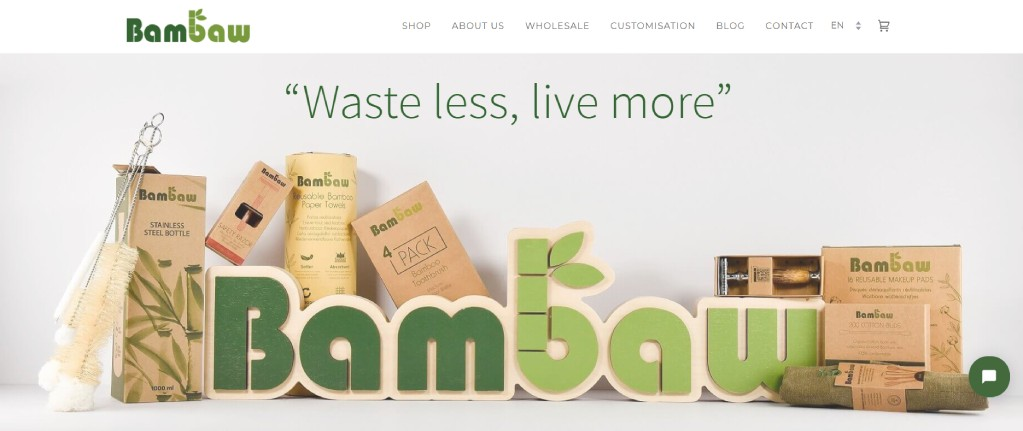 sustainability shop