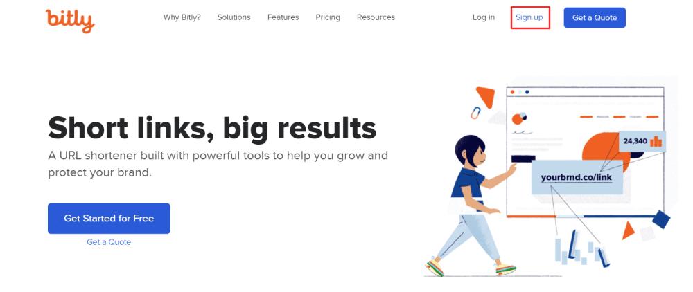 Bit.ly من أفضل مواقع اختصار الروابط