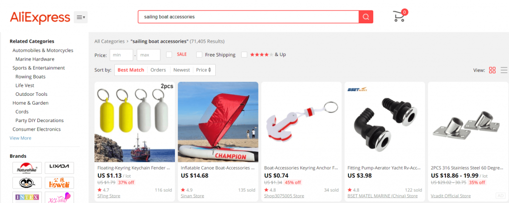 find trending products 2021 on AliExpress