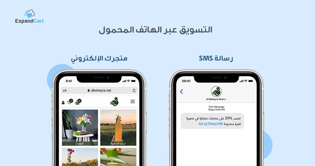التسويق عبر الهاتف المحمول Mobile Marketing