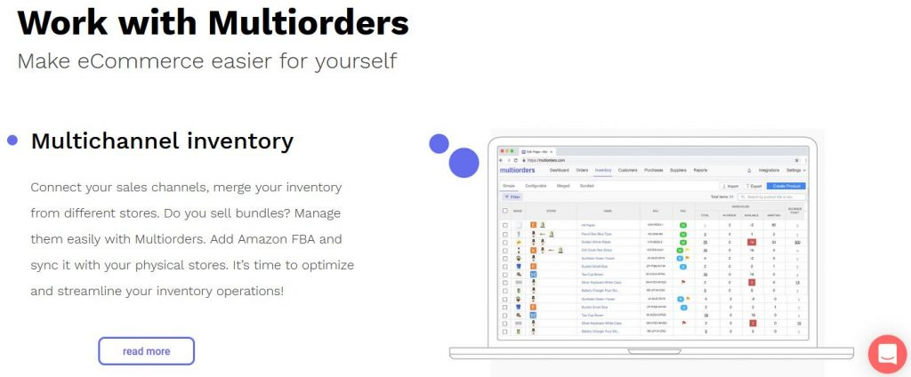 multiorders inventory automation